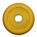 Диск «PROFIGYM» (d=51мм) обрезиненный 1,25 -25 кг, цветной Powergym