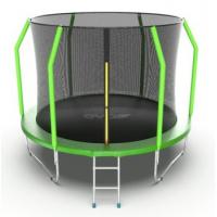 Батут Evo fitnes Cosmo 10ft с внутренней сеткой и лестницей