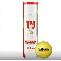 Мяч теннис. WILSON Tour Clay Red