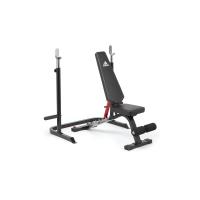 Скамья тренировочная с рамой для приседаний Adidas ADBE-10345