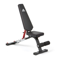 Скамья тренировочная ADBE-10341 Adidas