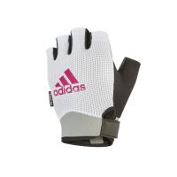 Перчатки для фитнеса White Adidas