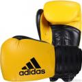 Боксерские перчатки Adidas Hybrid 200 желтый-черный