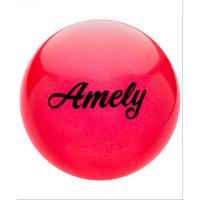 Мяч для художественной гимнастики AGB-102, 19 см, с блестками