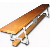 Скамейка гимнастическая на металлических ножках (массив дерева),длина в атрибутах