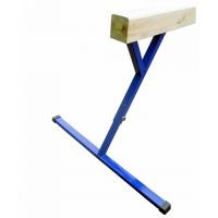 Бревно гимнастическое, регулируется по высоте (0,8-1,2м)