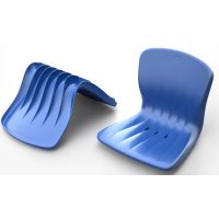 Кресло пластиковое стадионное