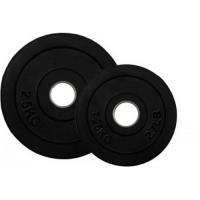 Диски бамперные каучук Profi Fit Черный 1 кг - 25 кг