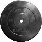 Диски обрезиненные ATLET d 26 (1,25 кг - 25 кг)