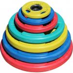 Диски обрезиненные с тройным хватом 3 HANDLE цветные D-51 1,25-25кг