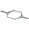 """Гриф для становой тяги, диаметр ручки 30 мм, длина 54"""" HEX-OB-54"""