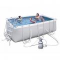 Каркасный бассейн 4.12х2.01х1.22 м, 56457 Bestway