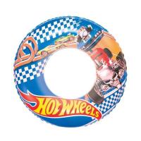 "Круг для плавания надувной ""Hot Wheels"" 56см Bestway"