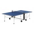 Теннисный стол складной 100 INDOOR blue 19мм (1 коробка)