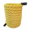 Канат для кроссфита восмипрядный ULTIMATE Sport PRIME Желтый 50 мм