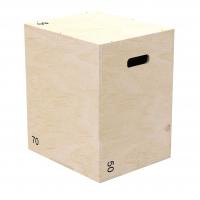 Универсальный PLYO BOX фанера, PROFI-FIT, 3 В 1, 50-60-70 см