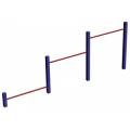 Тройной каскад WORKOUT низкий К-08 Plastep