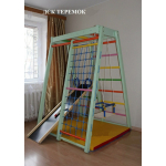 Домашний спортивный комплекс ТЕРЕМОК дерево 170