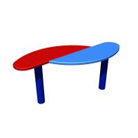 Столик для песочницы двойной Romana 302.12.00