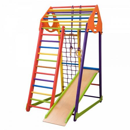 Детский спортивный комплекс «BambinoWood Color»