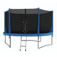 Батут OPTIFIT JUMP 8ft 2,44 м зеленый/синий