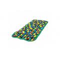 Коврик-дорожка массажный с цветными камнями (100x40 см)