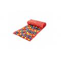 Коврик-дорожка массажный с цветными камнями (150x40 см)
