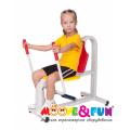 Детский тренажер Жим от груди Moovefun