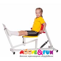 Детский тренажер Жим ногами Moovefun