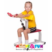 Детский тренажер Бицепс-трицепс Moovefun