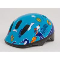 Шлем детский сине-голубой с дельфинами Moove&fun*