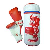 Набор для бокса детский (мешок 30см,вес 1кг+перч 4унц)