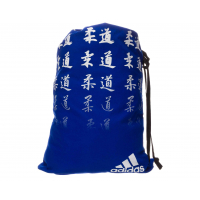 Мешок для кимоно и другой спортивной одежды и обуви с иероглифами JUDO с лямками