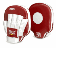 Лапы Everlast MX Mitts красные
