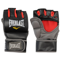 Перчатки Everlast Grappling черн.