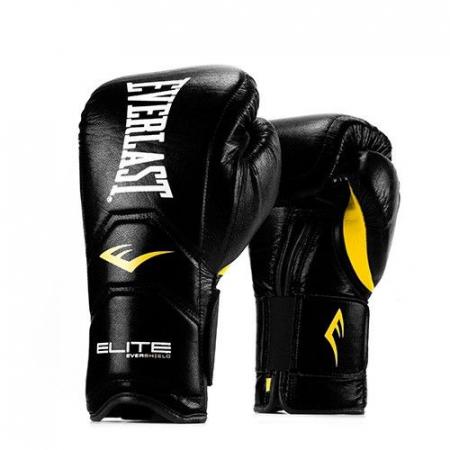 Перчатки тренировочные на липучке Everlast Elite Pro