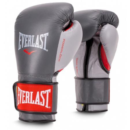 Перчатки тренировочные Everlast  POWERLOCK (Серый/Красный)