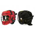 Шлем для единоборств с маской ТИТАН-4 капрон и иск. замша Ш12АВ