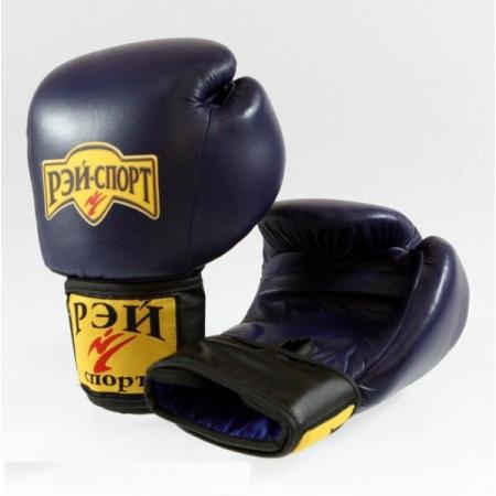 Перчатки боксерские ДЖЕБ кожа лБ52К