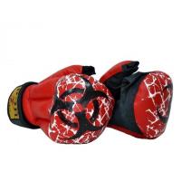 Перчатки для рукопашного боя FIGHT-1 БИО искожа, хлопок С4ИХ