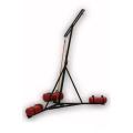 Стойка напольная тренировочная с изменяемой высотой подвеса мешка Рэй-спорт