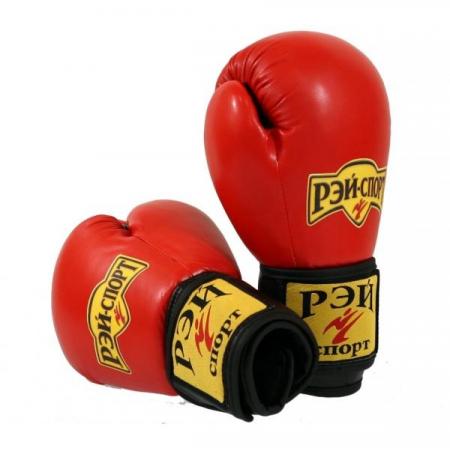 Перчатки для бокса и кикбоксинга АППЕРКОТ кожа лБ6