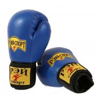 Перчатки для бокса и кикбоксинга иск. кожа АППЕРКОТ