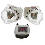 Шлем для Косики каратэ КРИСТАЛЛ-1 на шнуровке, иск. кожа и кожа Ш31LИКШ