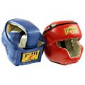 Тренировочный шлем (закрыты скулы и подбородок) МЕХИКО-1 кожа Ш4К