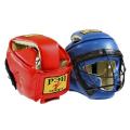 Шлем со съемной маской ТИТАН-1 иск. кожа и кожа Ш42И1К