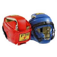 Шлем со съемной маской ТИТАН-1 кожа Ш42