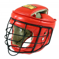 Шлем с маской ТИТАН-2 кожа для Армейского Рукопашного Боя Ш44