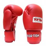 Перчатки боксерские TOP TEN с AIBA 2010-4010A
