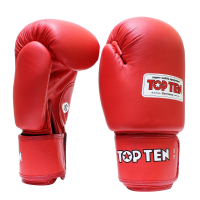 Перчатки боксерские с AIBA 2010-4010A TOP TEN